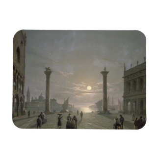 The Grand Canal From Piazza San Marco Vinyl Magnets