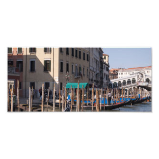 The Grand Canal in Venice Italty Photographic Print