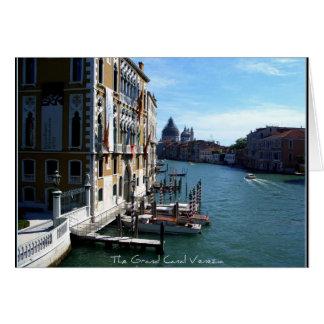 The Grand Canal Venezia Card