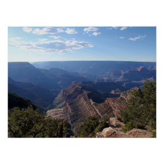 The Grand Canyon Before Sun Set Poster