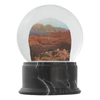 The Grand Canyon Snow Globe