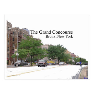 The Grand Concouse, Bronx, NY Postcard
