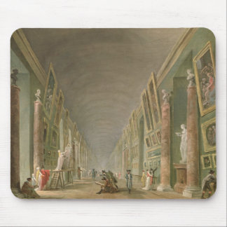 The Grand Gallery of the Louvre Mouse Pad