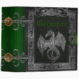 🔮The Grand Grimoire Witches Book Of Shadows Binder