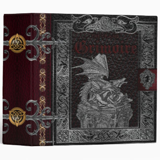 🔮The Grand Grimoire Witches Book Of Shadows🔮 Binder