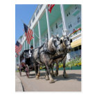 The Grand Hotel - Mackinac Island, Michigan Postcard