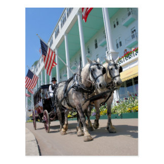 The Grand Hotel - Mackinac Island, Michigan Postcard