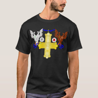 The Grand Rose Cross T-Shirt
