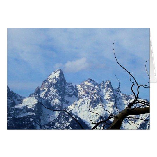 The Grand Teton Notecard