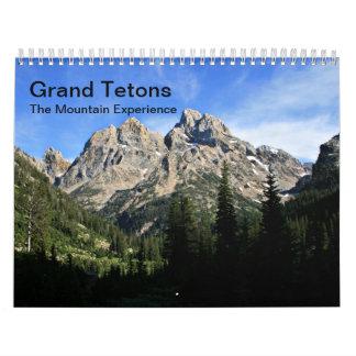 The Grand Tetons Calendar