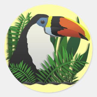 The Grand Toucan Classic Round Sticker