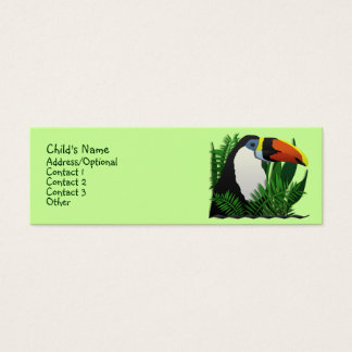 The Grand Toucan Mini Business Card