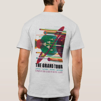 The Grand Tour (front and back) T-Shirt