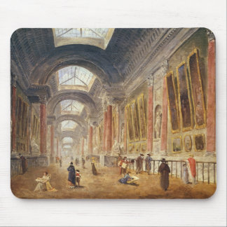 The Grande Galerie of the Louvre Mouse Pad