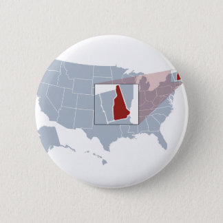 The Granite State 2 Inch Round Button
