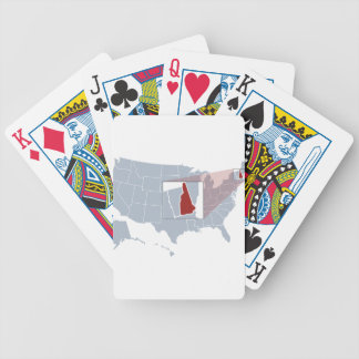 The Granite State Bicycle Playing Cards
