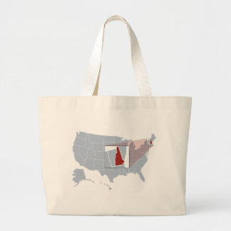 The Granite State Large Tote Bag