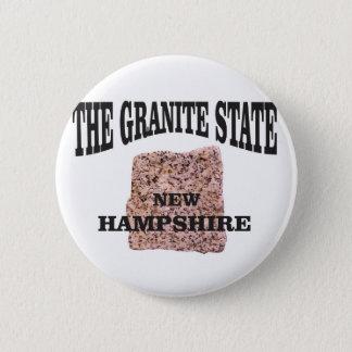 The granite state NH 2 Inch Round Button