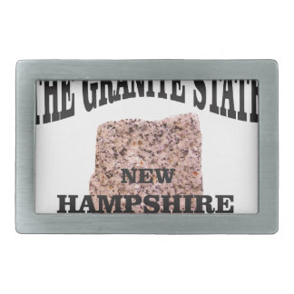 The granite state NH Belt Buckle