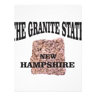 The granite state NH Letterhead