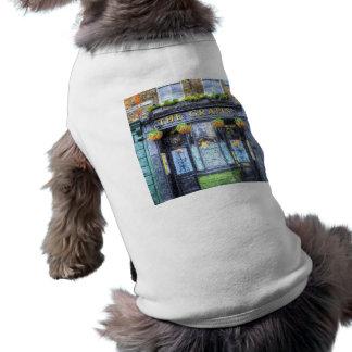 The Grapes Pub London Art Doggie Tee