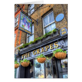 The Grapes Pub London Card