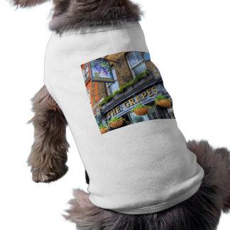 The Grapes Pub London Doggie T Shirt