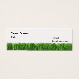 The Grass is Greener Mini Calling Card