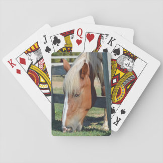 The Grass Is Greener On The Other Side Horse Playing Cards