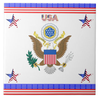 The Greal seal of the United States Tile
