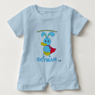 The Great Adventures of SKYMAN Baby Romper