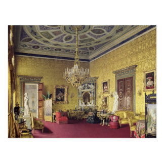 The Great Agate Hall in the Catherine Palace Postcard