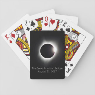 The Great American Eclipse Playing Cards