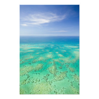 The Great Barrier Reef, aerial view of Green Art Photo