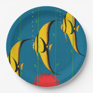 The Great Barrier Reef Australia Paper Plate