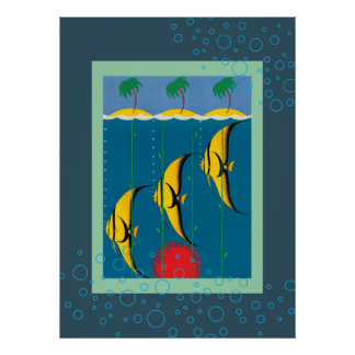 The Great Barrier Reef Australia Poster