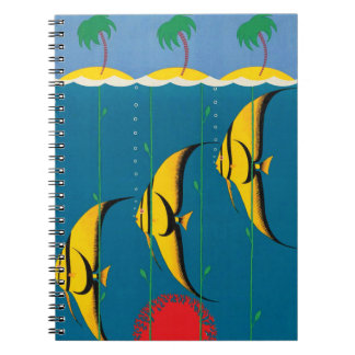 The Great Barrier Reef Australia Spiral Notebook