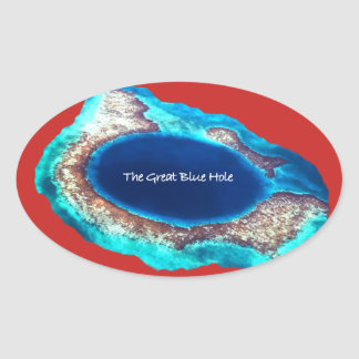 The Great Blue Hole Sticker