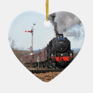 The Great Britain III steam train Ceramic Ornament
