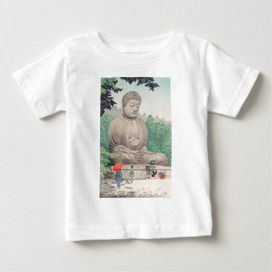 The Great Buddha at Kamakura FUJISHIMA TAKEJI Baby T-Shirt
