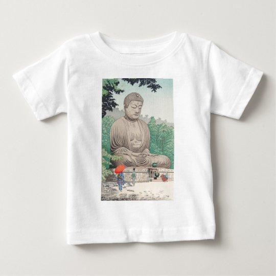 The Great Buddha at Kamakura FUJISHIMA TAKEJI Baby T-Shirt