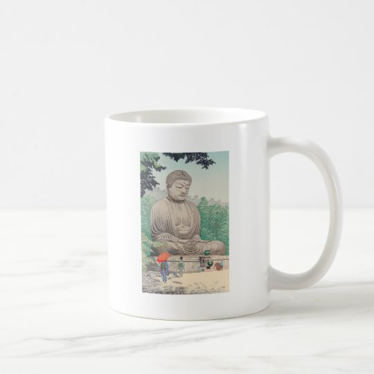 The Great Buddha at Kamakura FUJISHIMA TAKEJI Coffee Mug