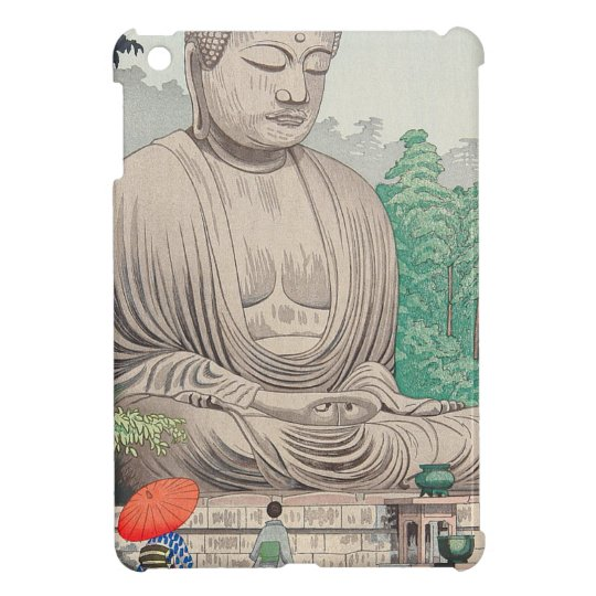 The Great Buddha at Kamakura FUJISHIMA TAKEJI Cover For The iPad Mini