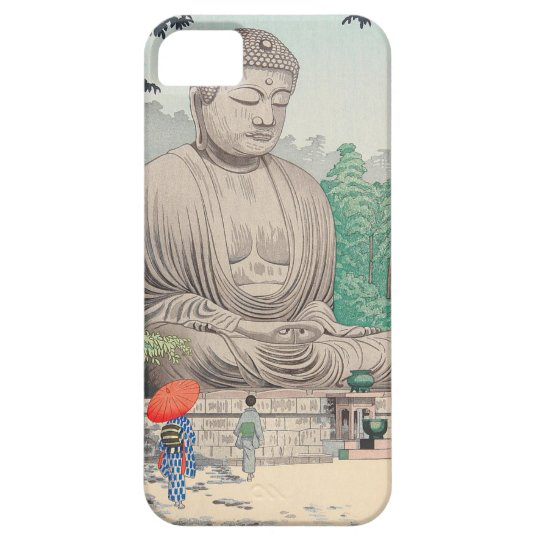 The Great Buddha at Kamakura FUJISHIMA TAKEJI iPhone 5 Cover