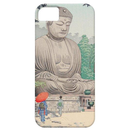 The Great Buddha at Kamakura FUJISHIMA TAKEJI iPhone 5 Covers