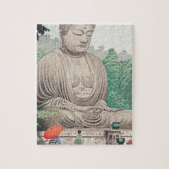 The Great Buddha at Kamakura FUJISHIMA TAKEJI Jigsaw Puzzle