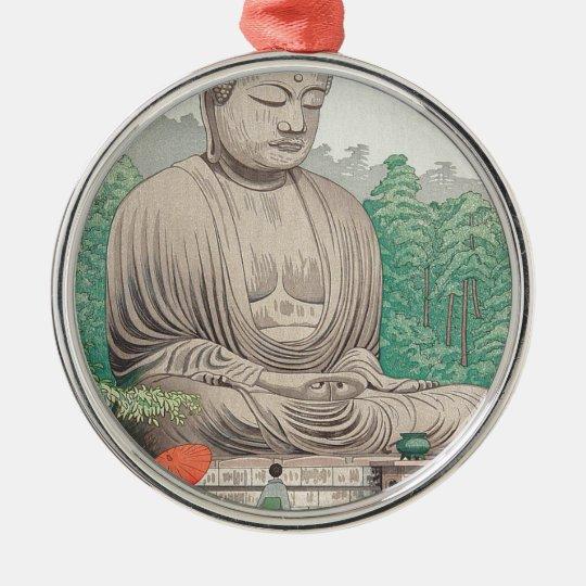 The Great Buddha at Kamakura FUJISHIMA TAKEJI Metal Ornament