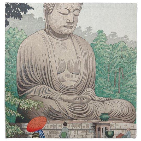 The Great Buddha at Kamakura FUJISHIMA TAKEJI Napkin