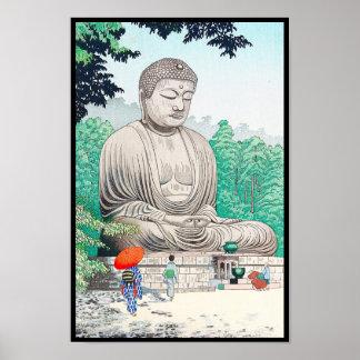 The Great Buddha at Kamakura FUJISHIMA TAKEJI Poster