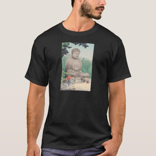 The Great Buddha at Kamakura FUJISHIMA TAKEJI T-Shirt